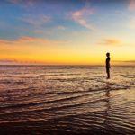 2016年11月ハワイ旅行4日目③-遠浅のクリオウオウビーチでサンドバー探し-
